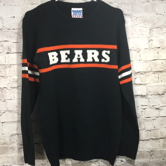 detailed pictures 1df66 fd44e Junk Food Chicago Bears Sweater Women's Medium